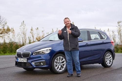 Klart som korvspad. BMW 2-serie Active Tourer nu även som fyrhjulsdriven.