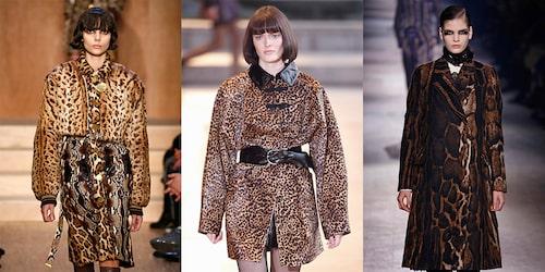 Jackor från Givenchy, Isabel Marant, Dries Van Noten.