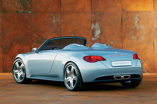 Volkswagen Concept R från 2003