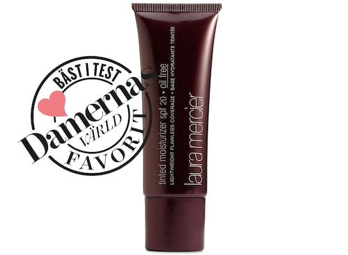 Recension på Laura Mercier Tinted moisturizer spf20.