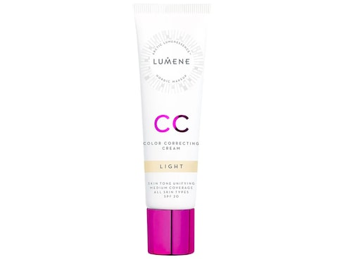 Recension på Lumene CC color correcting cream spf20.