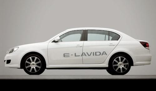 Volkswagen Lavida blue-emotion för kinesiska marknaden.