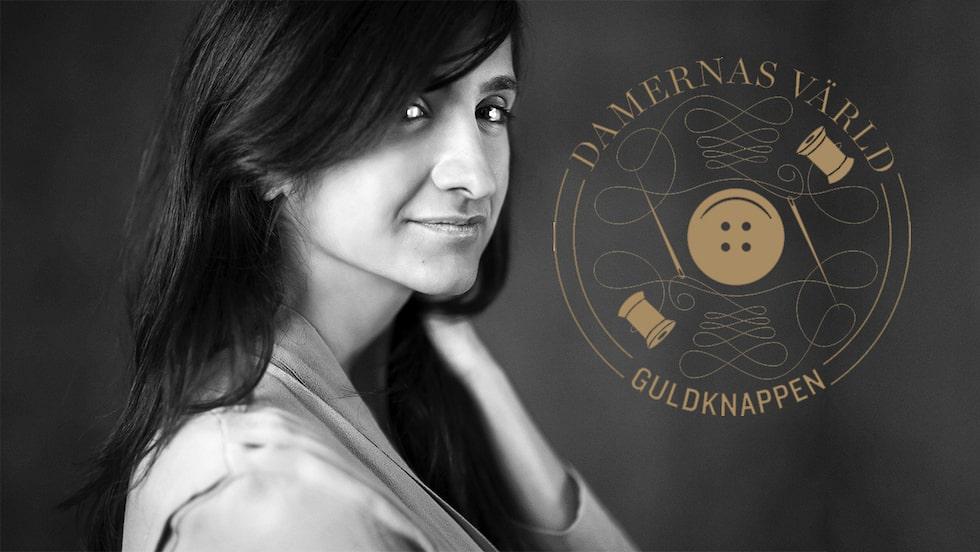 Susan Szatmáry är vinnare av Damernas Värld Guldknappen Accessoar 2020.