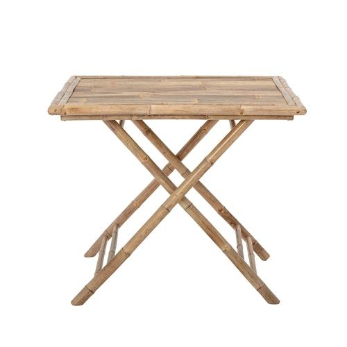 Hopfällbart bord i bambu, 90 x 75 x 90 cm, Bloomingville.