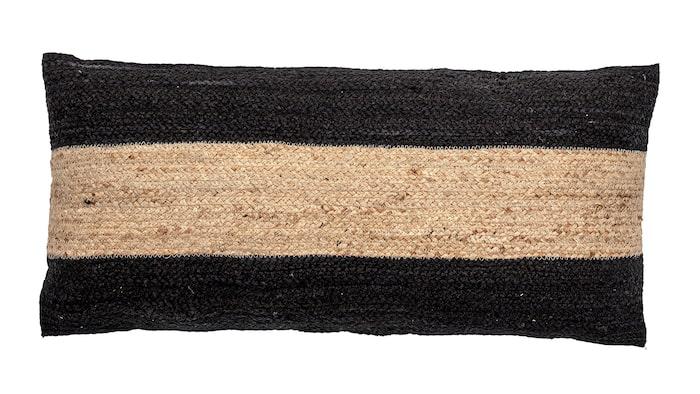 Kudde Guttorm i jute, 80 x 40 cm, Bloomingville.