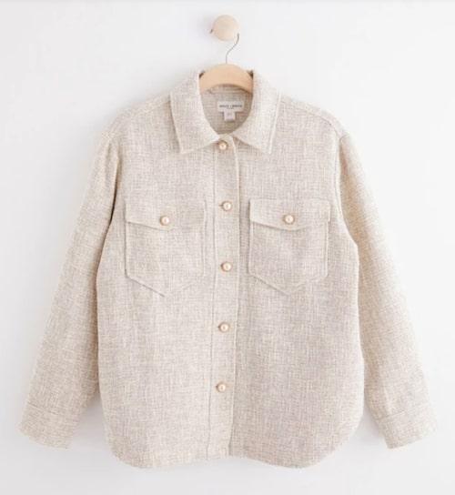 Skjortjacka från Lindex.