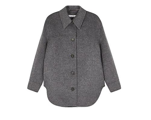 Grå skjortjacka från Acne.