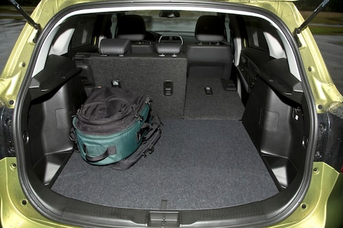 Säljargumentet nummer ett – ett bra bagageutrymme.
