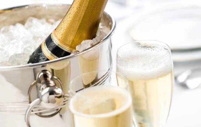 Champagne bra för hälsan