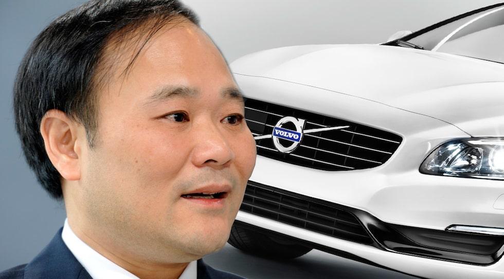 Li Shufu ger Volvo en käftsmäll som heter duga
