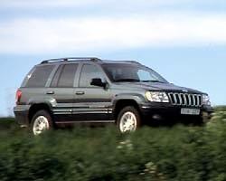 Provkörning av Jeep Grand Cherokee 2,7 CRD