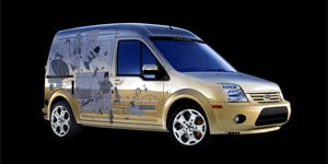 Ford Transit Connect by Ford Vehicle Personalization