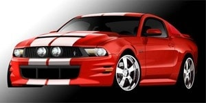 Ford Mustang by 3dCarbon