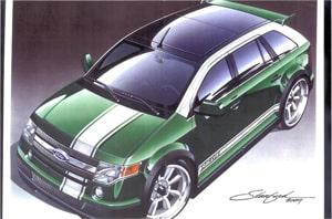 Ford Edge RallyE by Santini Paint