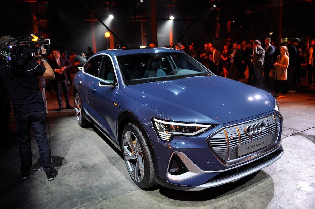 Teknikens Världs Hans Hedberg är på bilsalongen i Los Angeles för att bekanta sig med bland annat Audi e-tron Sportback. Bläddra för fler bilder från salongen.