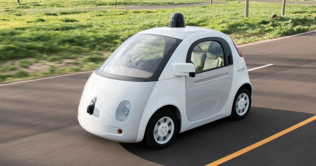 Googles självkörande bil.