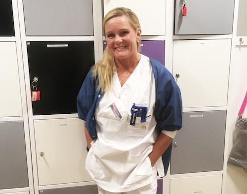 Barnmorskan Ann-Sofie Wennström jobbade på förlossningen i Eskilstuna.