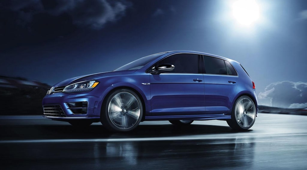 Volkswagen Golf R Launch Edition (USA-modell)