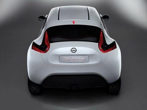 Konceptbilen Nissan Qazana, Jukes förebild.