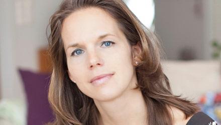 """Karin Isberg, aktuell med boken """"Nakendiscot""""."""
