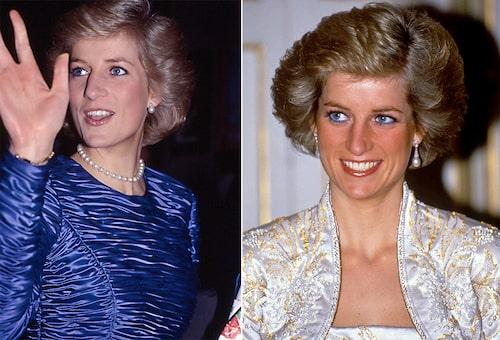 Princessan Diana hade sina skönhetsknep.