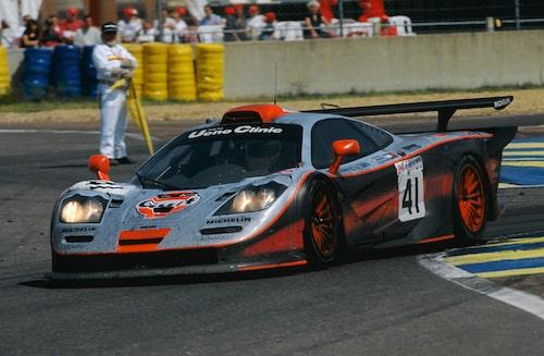 McLaren F1 GTR Longtail.