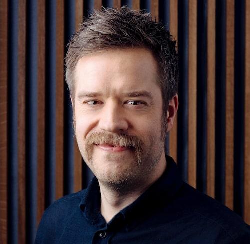 Fredrik Hagman utvecklar ljud hos Volvo Cars.