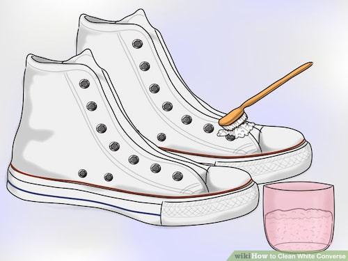 Steg 4: Skrubba dina Converse för hand!