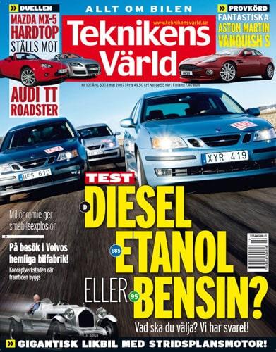 Teknikens Värld nummer 10 / 2007