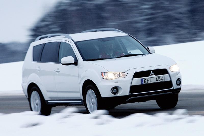 Provkörning av Mitsubishi Outlander 2,4 FFV 4WD