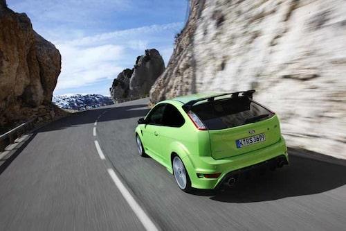 Längs vindlande bergsvägar i Frankrike blir Focus RS rena lyckopillret.