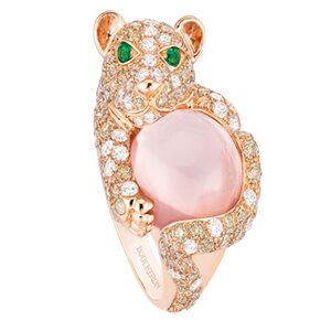 Ring med rosa sten, 320 100 kr, Boucheron.