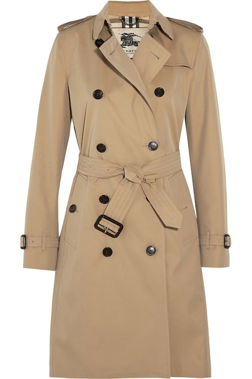 Traditionell trenchcoat, 17 040 kr, Burberry.