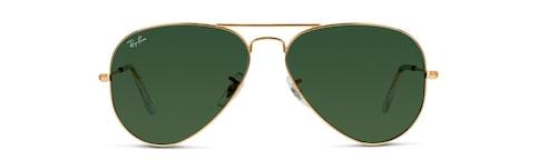 """Ray-Bans pilotglasögon """"Aviator"""" hör till de mest klassiska modeller genom tiderna."""