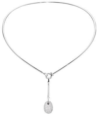 Halsband i vitt guld, Dew drop, 65 000 kr, Georg Jensen.