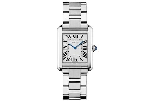 Klassiskt armbandsur från Cartier.