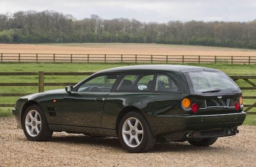 V8 Sportsman är en Aston för den som behöver en kombis lastutrymme.