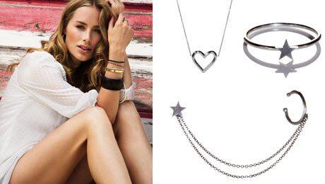 Anine Bing har designat sin första smyckeskollektion för svenska Cooee.