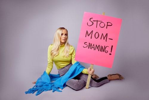 Efter graviditeten och förlossningen är Ida Warg tydlig: Stoppa momshamingen nu!