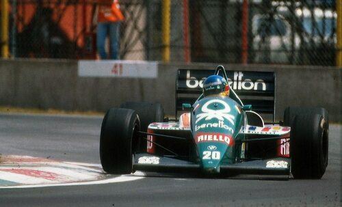 Gerhard Berger, Benetton 1989.