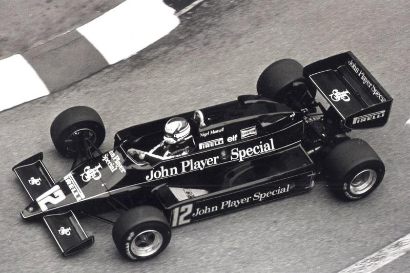 Nigel Mansell, Lotus 1983.