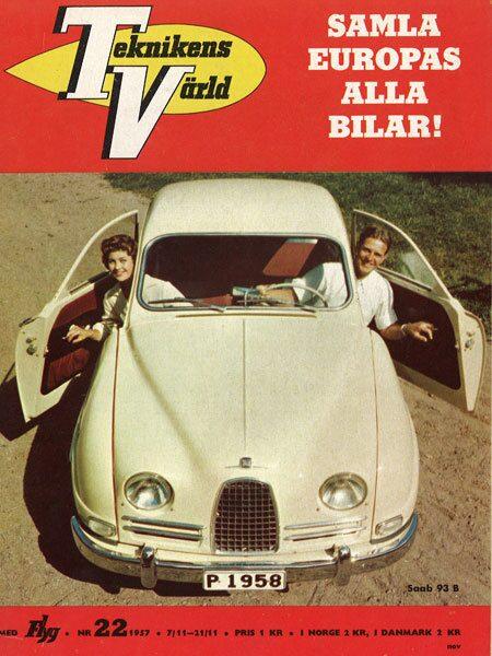 Teknikens Värld nummer 22 / 1957
