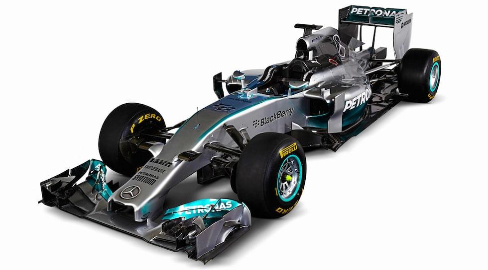 Mercedes F1 W05