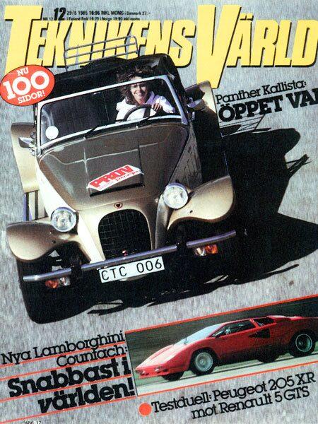 Teknikens Värld nummer 12 / 1985