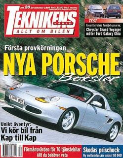 Teknikens Värld nummer 20 / 1996