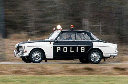 Volvo Amazon Polisbil från 1970.
