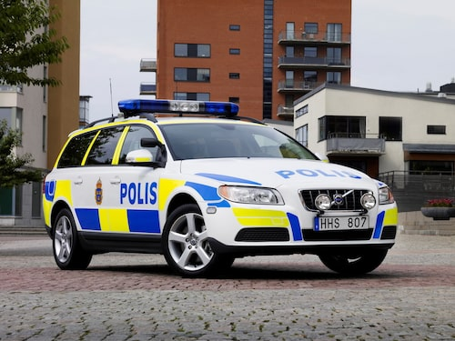 Volvo V70 Polisbil