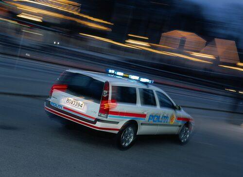 Norsk polis har också kört Volvo V70 Polis.
