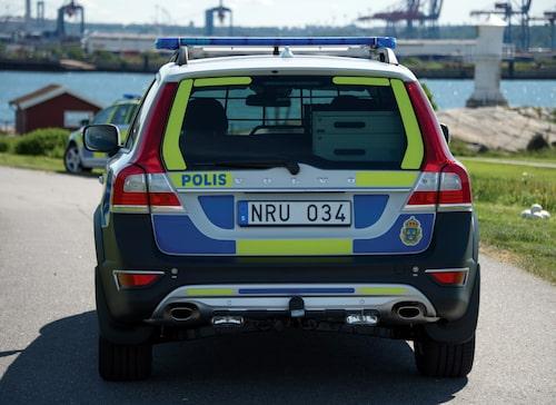 Volvo XC70 Polisbil