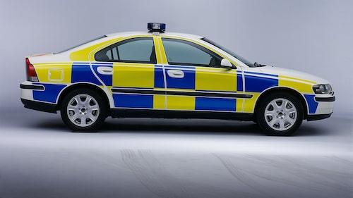 Britterna har även kört Volvo S60 som polisbil.